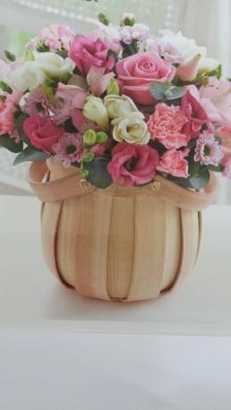 Pretty Pink Petite Basket