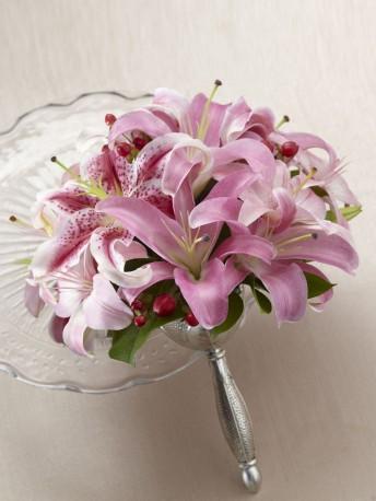 Pink Oriental Lily Bouquet