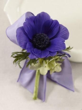 Purple Passion Boutonniere