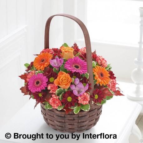 Autumn Daze Basket