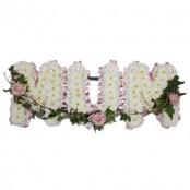 Floral Letter Tributes