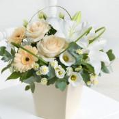 Cream Exquisite Arrangement
