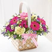 Mother's Day Basket Arrangement