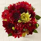 Ruby Glow Bouquet