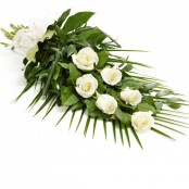 Simple Rose Sheaf White