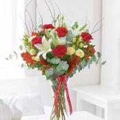 Happy Anniversary Enchanted Romance Vase