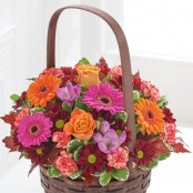 Autumn Daze Basket